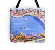 Across the blue Tote Bag