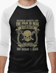 The Pain Is Real Men's Baseball ¾ T-Shirt