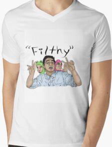 Filthy Frank Filthy Mens V-Neck T-Shirt