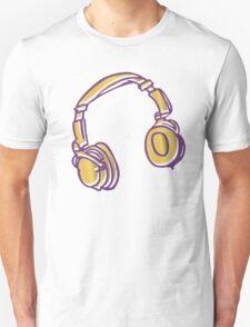 Headphone Tunes Unisex T-Shirt