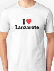 I Heart Love Lanzarote T-Shirt