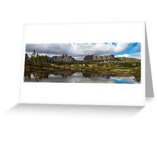 Mt Geryon and the Acropolis Greeting Card