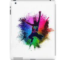 Coldplay Rainbow Splatter iPad Case/Skin