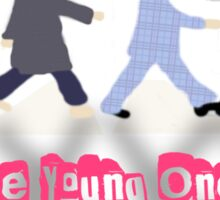 The Young Ones Sticker