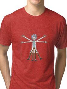 Vitruvian Rick Tri-blend T-Shirt