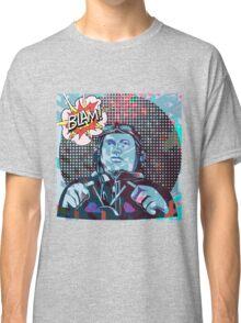 """Blam!"" The Racer, Pop Art Style Classic T-Shirt"