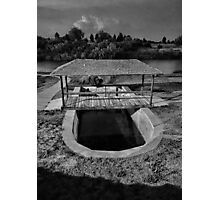 Pecos River Well  Photographic Print