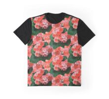 Geraniums Graphic T-Shirt