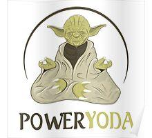 Power Yoda Poster