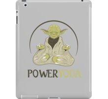 Power Yoda iPad Case/Skin