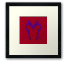 Minimalist Magento - Comic Book Colours Framed Print