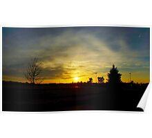 Plover Sunset Poster