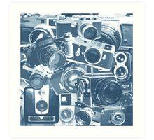 Classic Camera Collection Art Print
