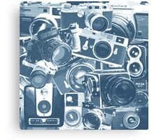 Classic Camera Collection Canvas Print
