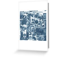 Classic Camera Collection Greeting Card