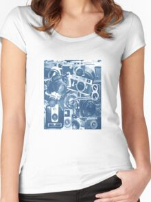 Classic Camera Collection Women's Fitted Scoop T-Shirt