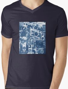 Classic Camera Collection Mens V-Neck T-Shirt