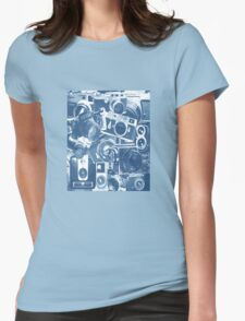 Classic Camera Collection Womens Fitted T-Shirt