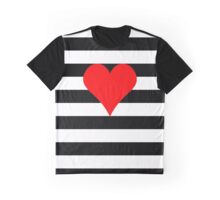 love & stripes Graphic T-Shirt