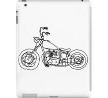 Triumph Chopper, Project 650, Bobber iPad Case/Skin