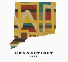 Connecticut state map Kids Clothes
