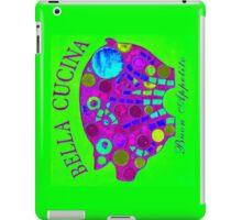 Neon Green / Purple Mosaic Pig - Buon Appetito iPad Case/Skin