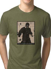 Kung Fu Joe Tri-blend T-Shirt