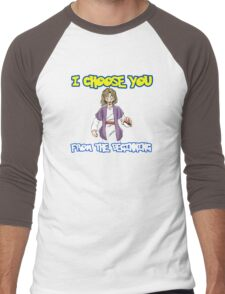 I choose you-Jesus  Men's Baseball ¾ T-Shirt