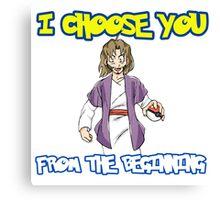 I choose you-Jesus  Canvas Print