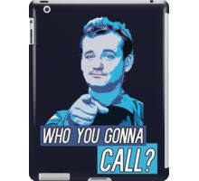 Who You Gonna Call? Ghostbusters! iPad Case/Skin