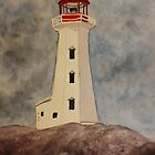 Lighthouse by JoAnn Glennie