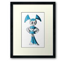 "Jenny ""XJ-9"" Wakeman Framed Print"