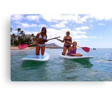 Stand up Paddle Boards Canvas Print