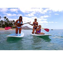 Stand up Paddle Boards Photographic Print