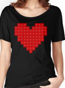 I Love Lego Women's Relaxed Fit T-Shirt