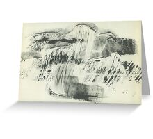 Landscape after the rain Greeting Card