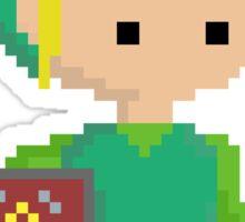 Minishcap Link Pixel  Sticker