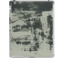 landscape before the rain (ink, paper) iPad Case/Skin