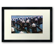 Docklands Framed Print