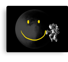 Make a Smile Canvas Print