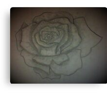 a great Rose Canvas Print