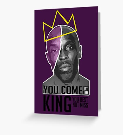 Omar Little - The Wire Greeting Card