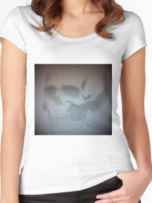 epic Skull Women's Fitted Scoop T-Shirt