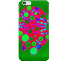 Green / Pink Mosaic Pig - Buon Appetito iPhone Case/Skin