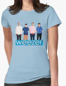 Weezer - Blue Album Womens Fitted T-Shirt