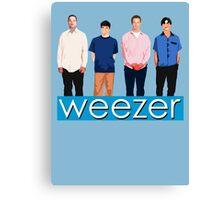 Weezer - Blue Album Canvas Print