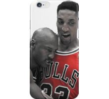 Michael Jordan Flu Game  iPhone Case/Skin