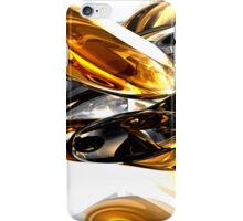 Black Amber Abstract  iPhone Case/Skin