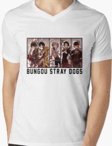 Bungou Stray Dogs Anime Mens V-Neck T-Shirt