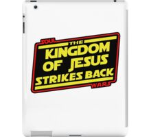 The Kingdom of Jesus Strikes Back iPad Case/Skin